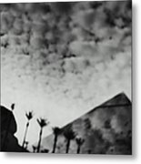 Usa,nevada,las Vegas,luxor Hotel Metal Print