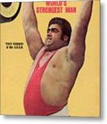 Ussr Vasily Alexeyev, 1972 Summer Olympics Sports Illustrated Cover Metal Print