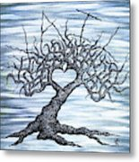 Vail Love Tree Metal Print
