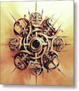 Valhalla Heart Metal Print