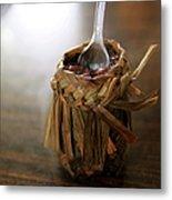 Vanilla Rice Metal Print