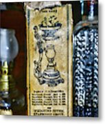 Vapo-cresolene Vaporizer Liquid Poison Original Packaging Metal Print