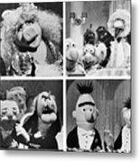 Various Muppets Scenes Metal Print