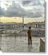 Vaticani View Metal Print