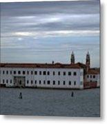Venice Water Scene Metal Print