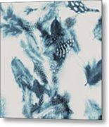Vertigo Blue Metal Print
