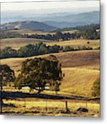 Victoria Countryside Layers Metal Print