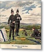 Victoria Rifles Metal Print