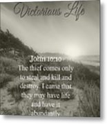 Victorious Life 324 Metal Print