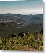 View From Flattop Mountain Trail Metal Print