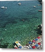 View From Il Pellicano Metal Print