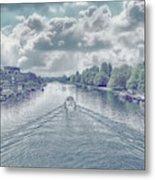View From Kingston Bridge Metal Print