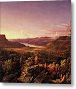 View Of Greenwood Lake, New Jersey Metal Print