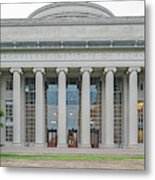 View Of Massachusetts Institute Metal Print