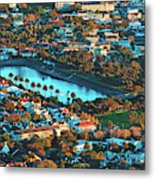 View Of Molteno Reservoir - Cape Town Metal Print
