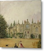 View Of Strawberry Hill Middlesex Metal Print