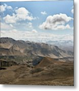 View Of The Village Of Marang From Mui Metal Print