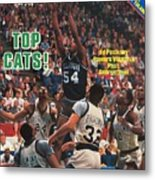 Villanova University Ed Pinckney, 1985 Ncaa National Sports Illustrated Cover Metal Print