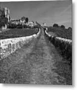Vineyard In Saint-emilion Metal Print