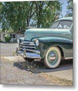 Vintage Car Chevy Fleetmaster Metal Print