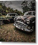 Vintage Cars Goshen Nh Metal Print