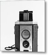 Vintage Eastman Kodak Brownie Reflex Synchro Model Film Camera Metal Print