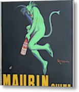 Vintage Poster - Maurin Quina Metal Print