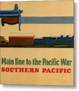 Vintage Poster - Southern Pacific Metal Print