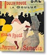 Vintage Poster - Toulouse Lautrec Metal Print
