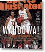 Wahoowa University Of Virginia 2019 Ncaa National Champions Sports Illustrated Cover Metal Print