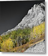 Waning Gibbous Moon Autumn Monarch Pass Bwsc Metal Print