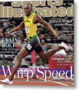 Warp Speed 2012 Summer Olympics Sports Illustrated Cover Metal Print