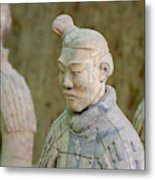 Warriors In Pit 1, Xi'an, China Metal Print