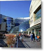 Warsaw Shopping Mall Metal Print