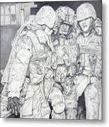 Wartime Loyalty Metal Print