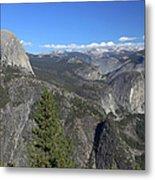 Washburn Point, Yosemite Np Metal Print