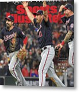 Washington Nationals, 2019 World Series Champions Sports Illustrated Cover Metal Print