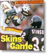 Washington Redskins Gary Clark... Sports Illustrated Cover Metal Print