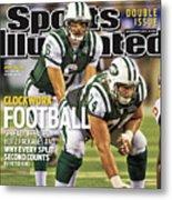 Washington Redskins V New York Jets Sports Illustrated Cover Metal Print