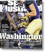 Washington Why The Huskies Can Win It, 2016 College Sports Illustrated Cover Metal Print