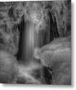 Water And Ice 9 Metal Print