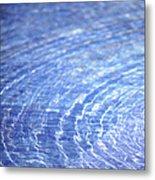 Water Ripple Metal Print