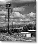 Water Tower In Hillsborough New Brunswick Metal Print