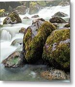 Waterfall, Bc, Canada Metal Print