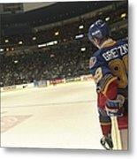 Wayne Gretzky Metal Print