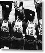 We Prefer Knicks 2 To 1. Coach Red Metal Print