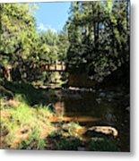 Webber Creek Bridge Metal Print