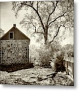 Weikert House At Gettysburg Metal Print