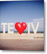Welcome To Tel Aviv Port Metal Print