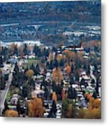 Wenatchee In November Metal Print